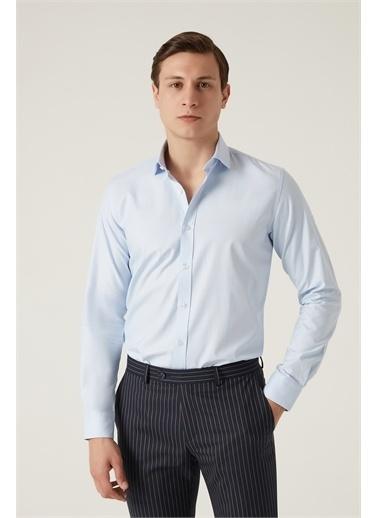 Tween Tween Slim Fit Mavi Gömlek Mavi